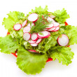 Stock Photo: Low-calorie salad