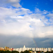 Clouds over city — Stok Fotoğraf #6164531
