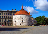 Vyborg. The Old Tower — Stock Photo