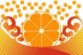Oranžová — Stock fotografie