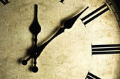 Old-fashioned Wall Clock — Stock Photo