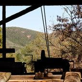 旧锯木厂 — 图库照片