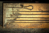 Blacksmith `s tools — Stock Photo