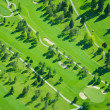 Aerial Golfing During Late Afternoon — Stock Photo #5967239