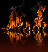 Flames — Stock Photo