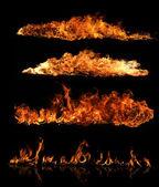 Plameny požáru — Stock fotografie