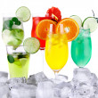 Ice drinks - Stock Photo