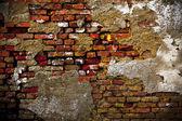 старая стена — Стоковое фото