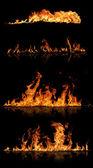 火集合 — 图库照片