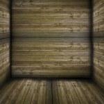 dřevěný box — Stock fotografie