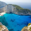 Navagio beach — Stock Photo