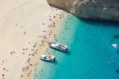 Vista superior de playa — Foto de Stock