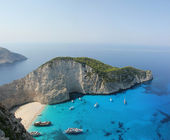 Navagio beach — Stockfoto