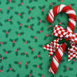 Christmas Candy Cane — Stock Photo
