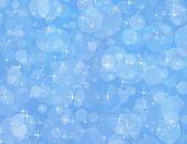 Blue Sparkle Background — Stock Photo
