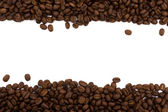 Coffee Border — Stock Photo