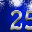 Stock Photo: 25th Anniversary