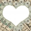 Money Heart — Stock Photo #6319782