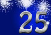 25th Anniversary — Stock Photo