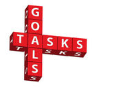 Goals and Tasks — Stock Photo