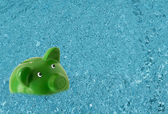 Drowning in debt — Foto Stock
