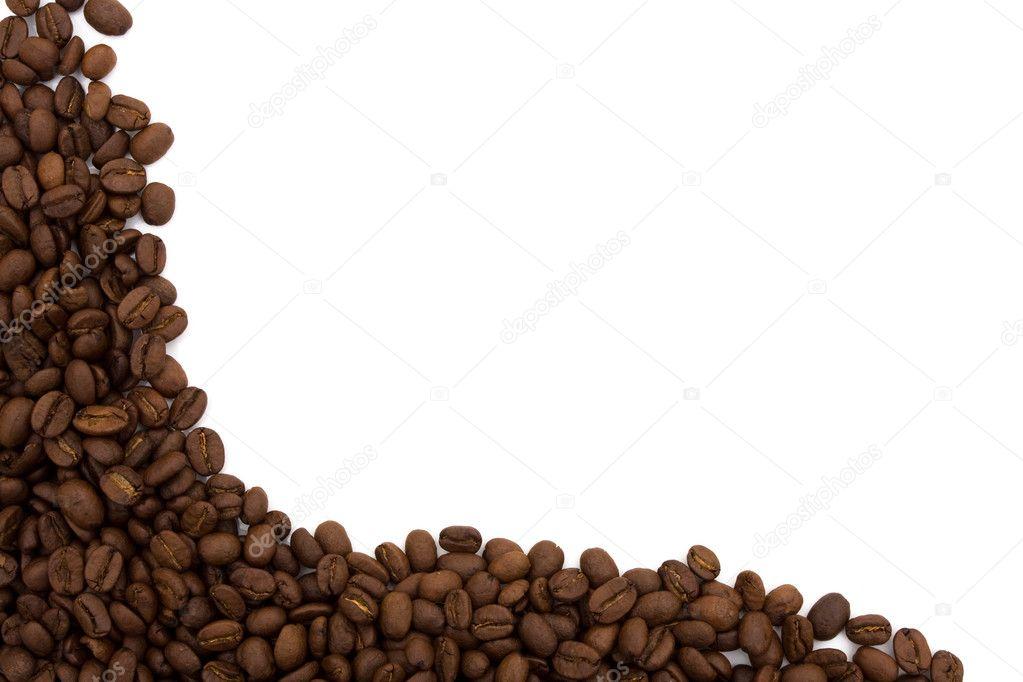 Coffee Bean Border — Stock Photo © karenr #6310687