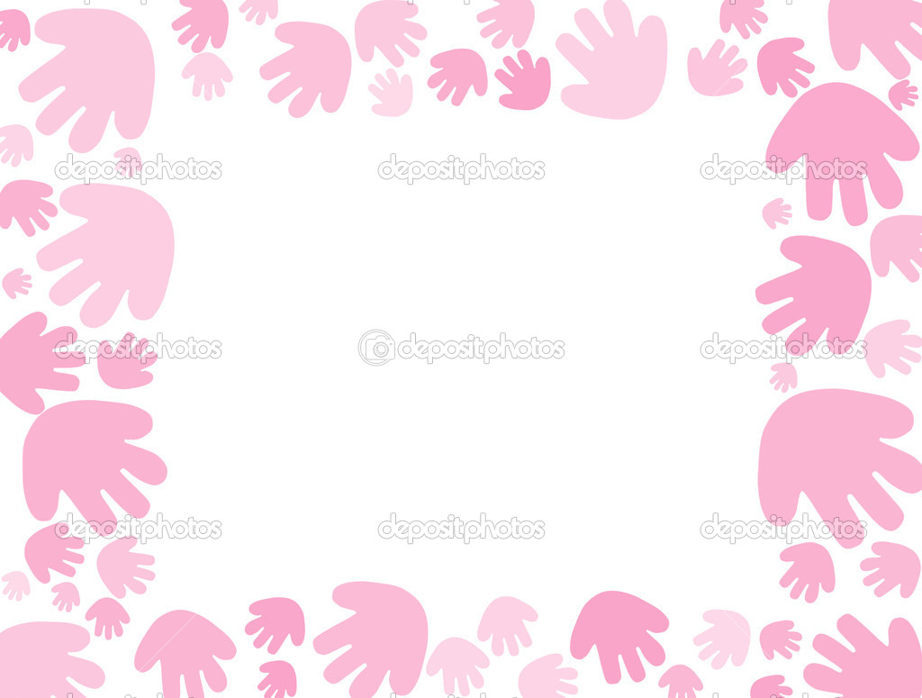 Pink Baby Border