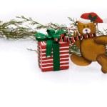 Christmas Bear — Stock Photo