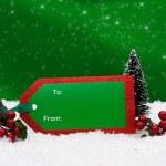 Gift Tag — Stock Photo #6323587