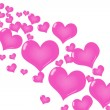 Royalty-Free Stock Photo: Pink Heart Background