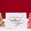 Candy Cane Trees — Stock Photo