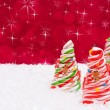 Candy Cane Trees — Stock Photo #6323836