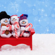 Snowmen — Stock Photo #6324707