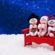 Snowmen — Stock Photo #6324746