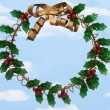 Holly Wreath — Stock Photo #6326161