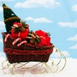 Santa Sleigh — Stock Photo #6326170