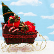 Stock Photo: Santa Sleigh