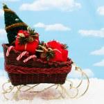 Santa Sleigh — Stock Photo #6326170