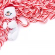 Candy Cane Border — Stock fotografie #6326179