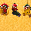 Teddy Bear Ornaments — Stock Photo
