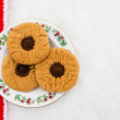 A plate of cookies — Photo