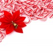 Candy Cane Border — Stock Photo #6326503
