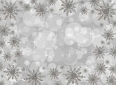 Snowflake Border — Stock Photo