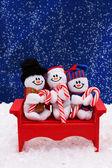 Snowmen — Stock fotografie