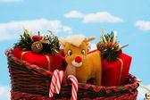 Santa Sleigh — Stock Photo