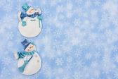 Snowmen — Foto de Stock
