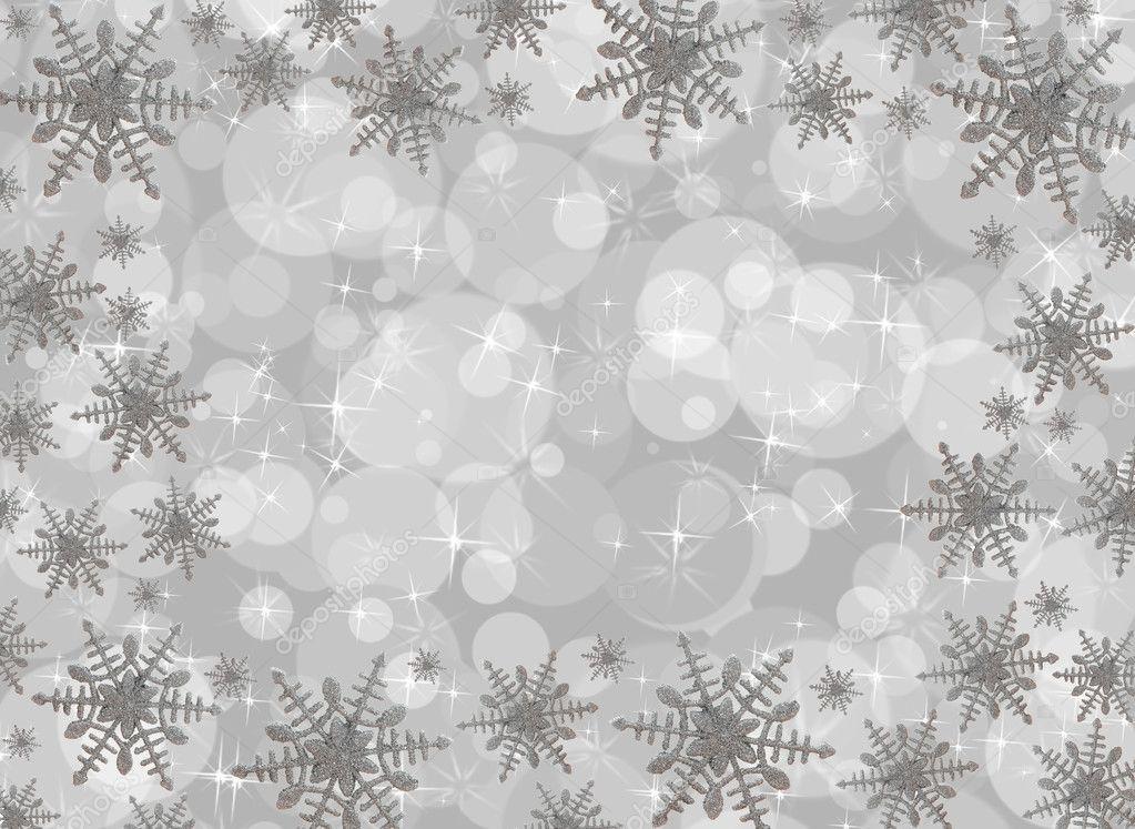 雪花边框 — 图库照片08karenr#6323483