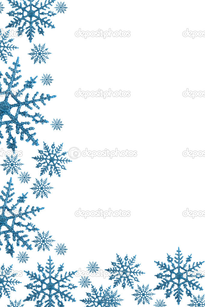 Snowflake Border — Stock Photo © karenr #6325161