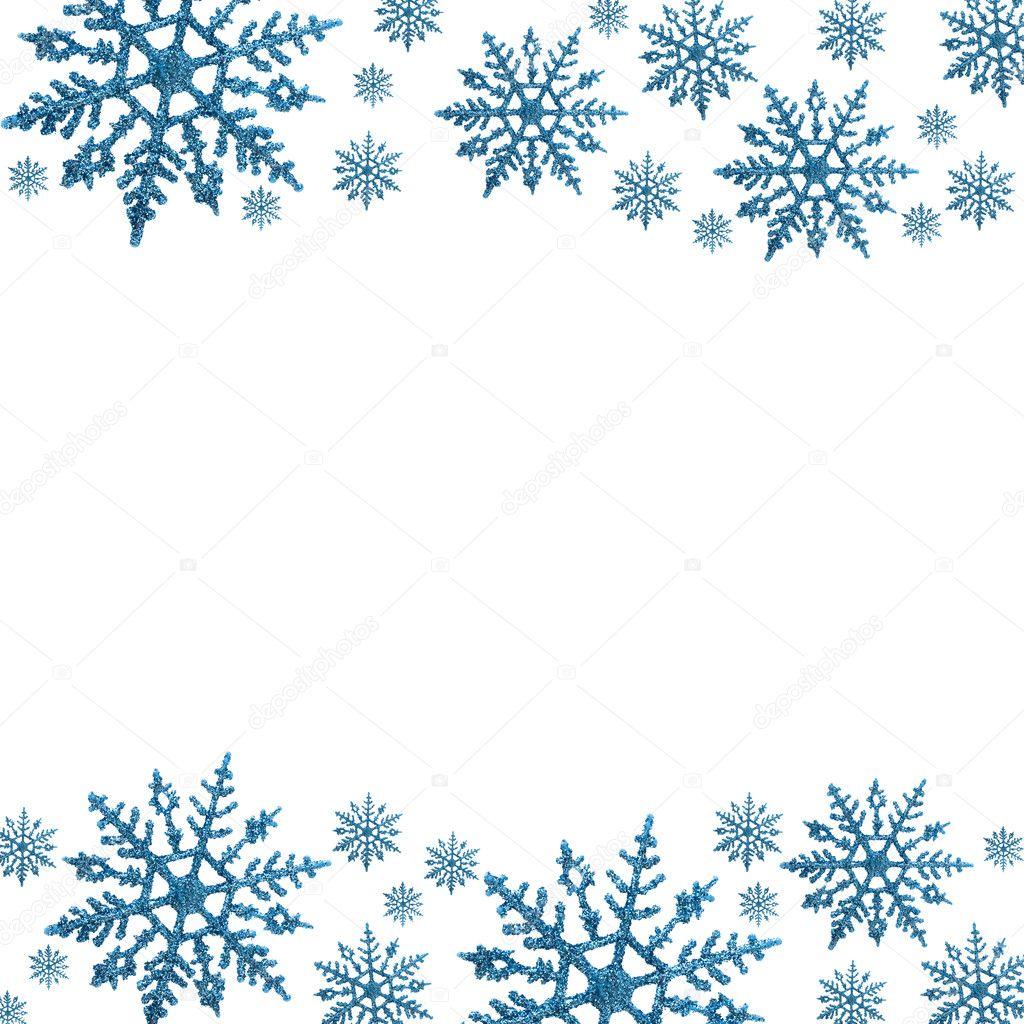 Snowflake border stock photo 169 karenr 6326226