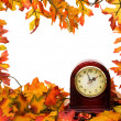 Fall time change — Foto Stock